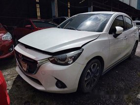 White Mazda 2 2017 Automatic Gasoline for sale