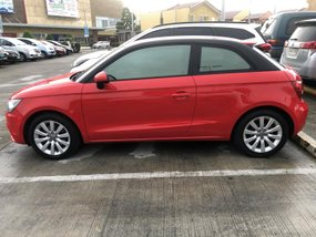 Red 2015 Audi A1 Automatic Gasoline for sale