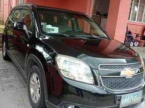 Black Chevrolet Orlando 2012 at 89000 km for sale