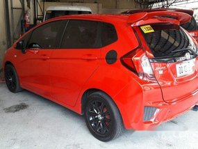 Red Honda Jazz 2015 Automatic Gasoline for sale