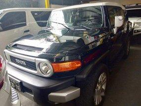 Black Toyota Fj Cruiser 2016 for sale in Quezon City