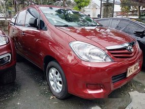 Sell Red 2009 Toyota Innova in Quezon City