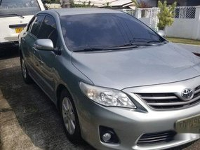 Sell Silver 2012 Toyota Corolla altis at 57000 km