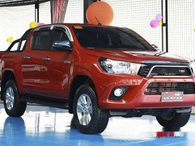 Orange Toyota Hilux 2018 at 4000 km for sale