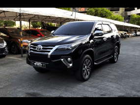 Selling Toyota Fortuner 2017 SUV at 20344 km