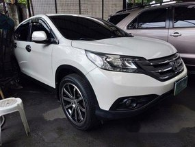 White Honda Cr-V 2012 for sale in Quezon City