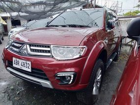 Sell Red 2015 Mitsubishi Montero sport in Quezon City
