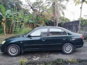 Selling Green Honda Civic 2001 in Manila