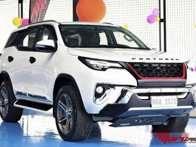 White Toyota Fortuner 2017 at 14000 km for sale