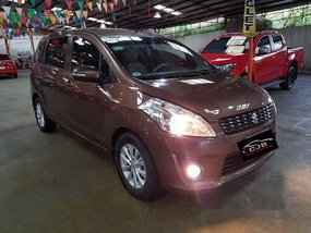 Brown Suzuki Ertiga 2015 at 42000 km for sale in Marikina