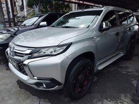 Selling Silver Mitsubishi Montero sport 2016 Automatic Diesel