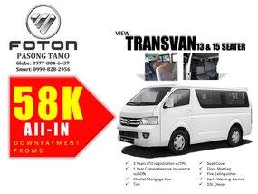 Selling Brand New Foton View Transvan 2019 in Makati