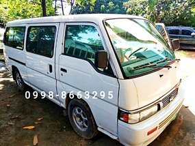 White Nissan Urvan Escapade 2008 for sale in Marikina