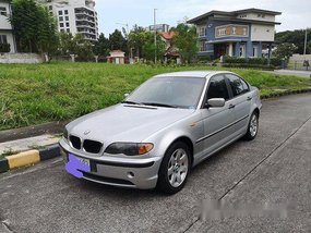Silver BMW 318I 2003 Automatic Gasoline for sale