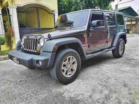 Selling Grey Jeep Wrangler 2017 Automatic Gasoline at 20000 km