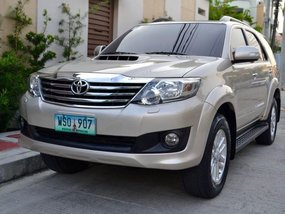 2013 Toyota Fortuner for sale in Quezon City