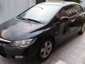 Black Honda Civic 2007 Automatic for sale