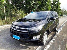 Selling Black Toyota Innova 2017 at 35000 km