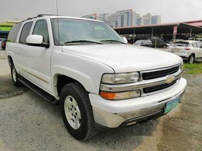 White Chevrolet Suburban 2006 at 32000 km for sale