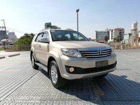 2012 Toyota Fortuner G Diesel Automatic