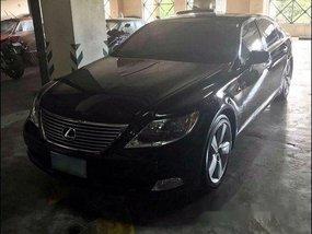 Black Lexus Ls 460 2009 at 10000 km for sale