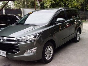 Sell Green 2018 Toyota Innova  Automatic Diesel