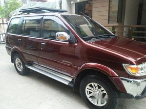 Red Isuzu Crosswind 2010 Automatic Diesel for sale