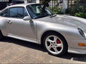 Silver Porsche 993 1997 at 10000 km for sale