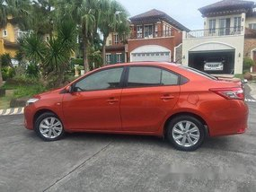 Brown Toyota Vios 2016 at 92000 km for sale
