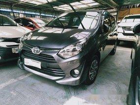 Grey Toyota Wigo 2018 for sale in Makati