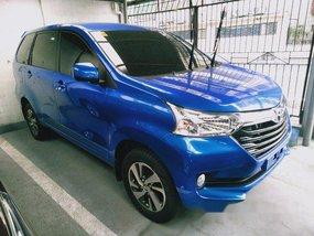 Selling Blue Toyota Avanza 2018 Automatic Gasoline