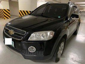 Selling Black Chevrolet Captiva 2011 at 79556 km