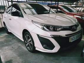 Selling White Toyota Vios 2019 Automatic Gasoline