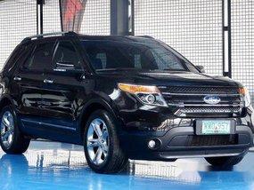 Black Ford Explorer 2013 at 15000 km for sale