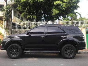 Toyota Fortuner 4X2 2015 2.5 G DSL A/T Black at 34,152 KM
