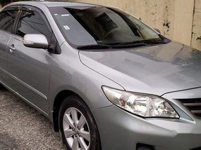 Grey Toyota Corolla altis 2012 at 61300 km for sale