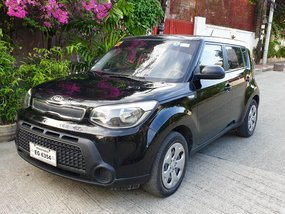 Black 2016 Kia Soul Crdi Manual in Pasay