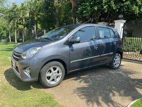 Grey Toyota Wigo 2015 at 20740 km for sale in Panglao