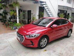 Red Hyundai Elantra 2018 Automatic Gasoline for sale