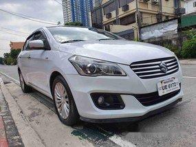 Selling White Suzuki Ciaz 2017 at 14000 km