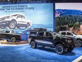 "Beefy Ford Ranger ""Raptor"" Lariat FX4 displayed at SEMA 2019"