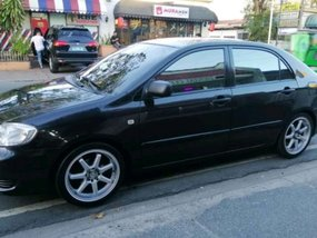 Selling Black Toyota Altis 2007 in Las Pinas