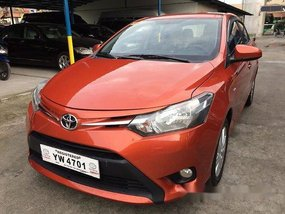 Orange Toyota Vios 2016 at 31000 km for sale