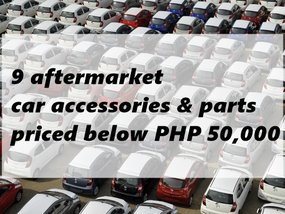 9 aftermarket accessories & parts priced below PHP 50,000