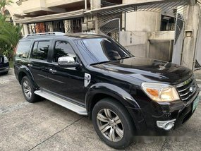 Sell Black 2009 Ford Everest at Automatic Diesel at 159000 km