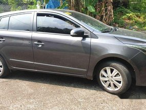 Grey Toyota Yaris 2016 Automatic for sale