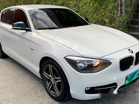 White Bmw 118D 2013 Automatic Diesel for sale