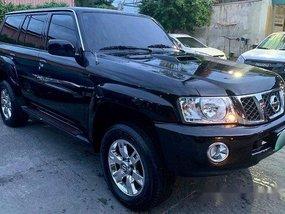 Selling Black Nissan Patrol 2010 Automatic Diesel at 80000 km