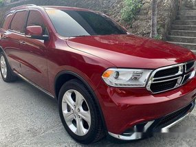 Red Dodge Durango 2015 Automatic Gasoline for sale