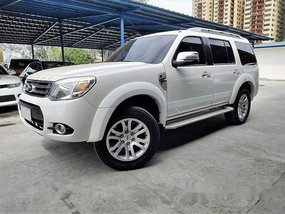 White Ford Everest 2014 Automatic Diesel for sale